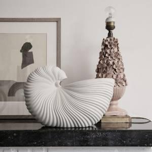 Bilde av Ferm Living Shell potte offwhite