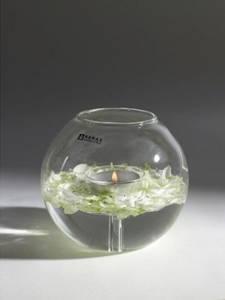 Bilde av Serax Telysestake rund glass Rene Barba