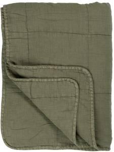 Bilde av IB Laursen Sengeteppe Vintage Quilt Olive