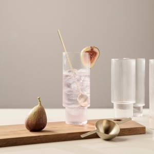 Bilde av Ferm Living Ripple Long Drink glass 4 stk.