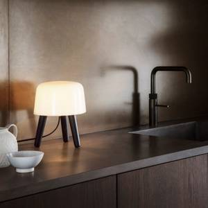 Bilde av &tradition Milk NA1 Smoked ben Bordlampe
