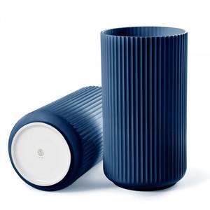 Bilde av Lyngby Vase Midnight Blue 25 cm