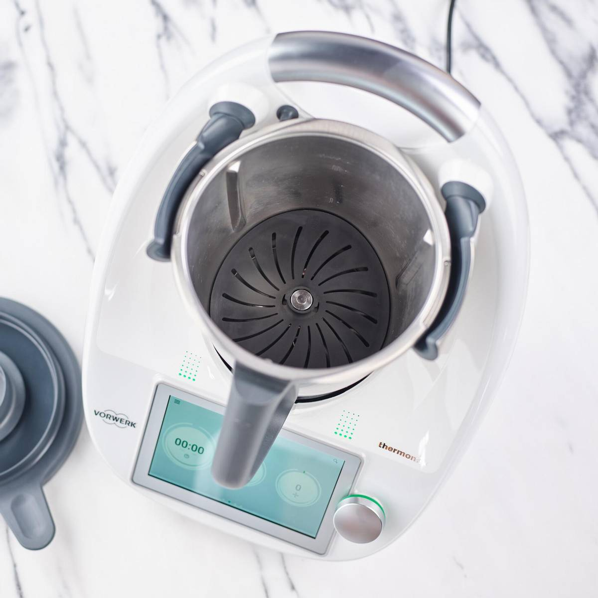 Thermomix TM6 med knivdeksel