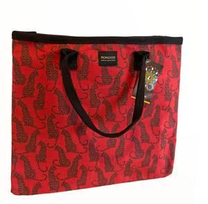 Bilde av CARRY Leopard Red - Stort rødt