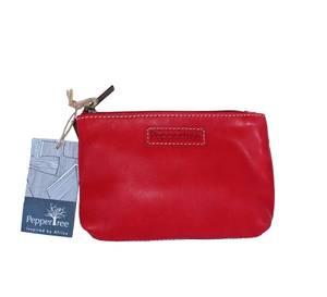 Bilde av Rød skinnpung - Red Essential Purse