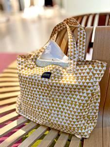 Bilde av Handlenett i bomull - Gul shopper