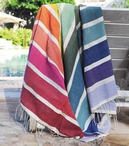 Bilde av Badehåndkle Kalam - Fair trade håndkle