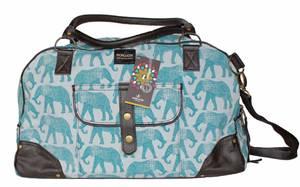 Bilde av Travel bag Elle - Helgebag med elefant