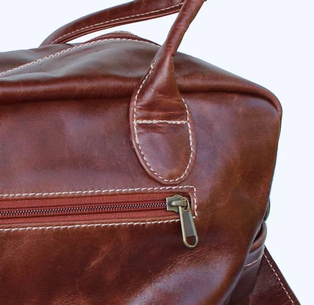 Overnight skinnbag - Nappy saddle