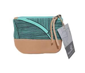 Bilde av Small zip purse - Turkis pengepung Disa