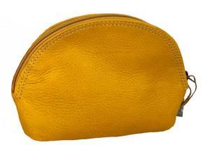 Bilde av Glam Bag Small Oker - Gul skinnpung