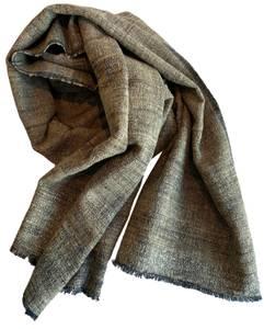 Bilde av Skjerf i silke og bomull - Beige Noah