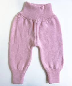 Bilde av Newborn ullbukse frisk rosa