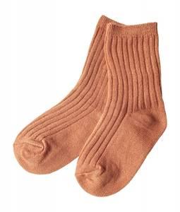 Bilde av Ribb sokker terracotta