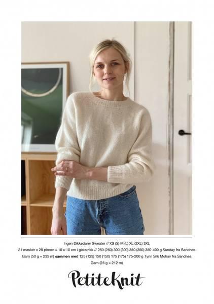Bilde av Ingen Dikkedarier Sweater - oppskrift