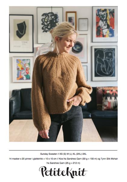 Bilde av Sunday Sweater - oppskrift