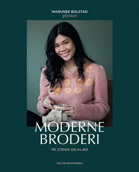 Bilde av Moderne broderi på strikk og klær