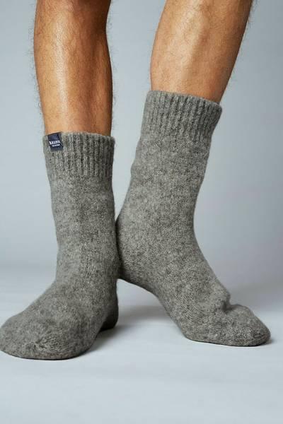Bilde av SKARV tovede sokker - Mørk grå
