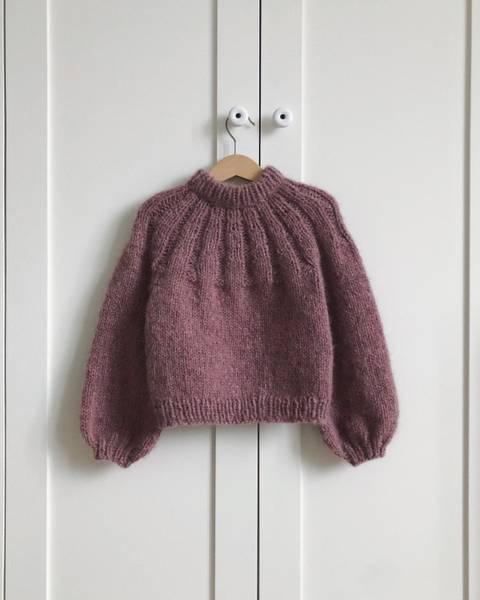 Bilde av Sunday Sweater Junior - oppskrift
