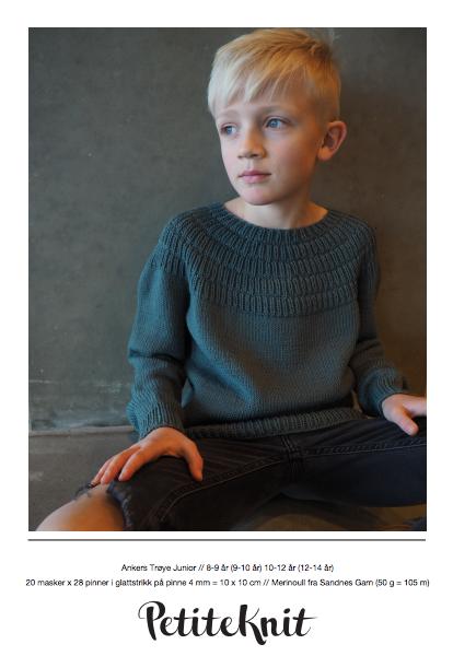 Bilde av Ankers Trøye Junior - oppskrift