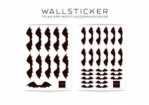 Bilde av Flaggermusvinger Wallsticker - Lillemeg Design