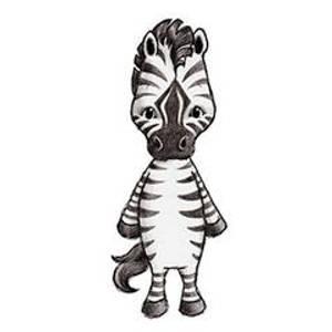 Bilde av Zet The Zebra Wallsticker - Stickstay