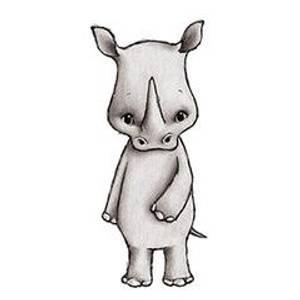 Bilde av Nea The Rhino Wallsticker - Stickstay