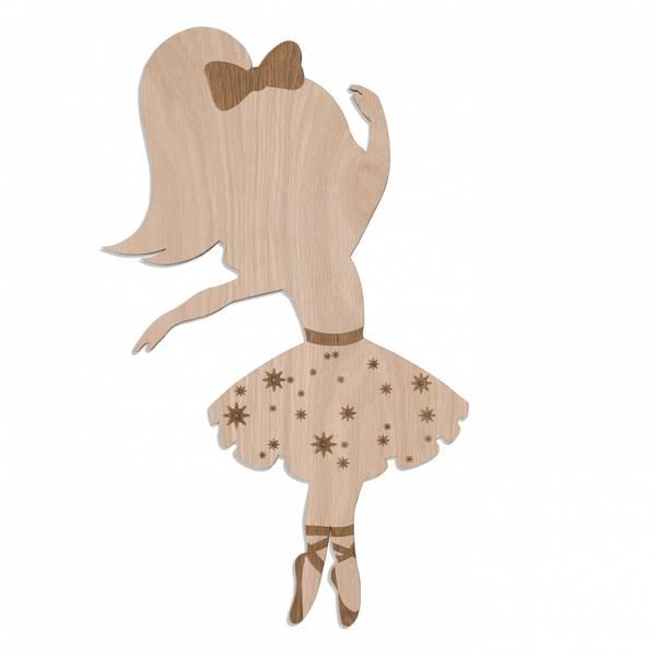 Ballerina Lampe / Eik - Maseliving