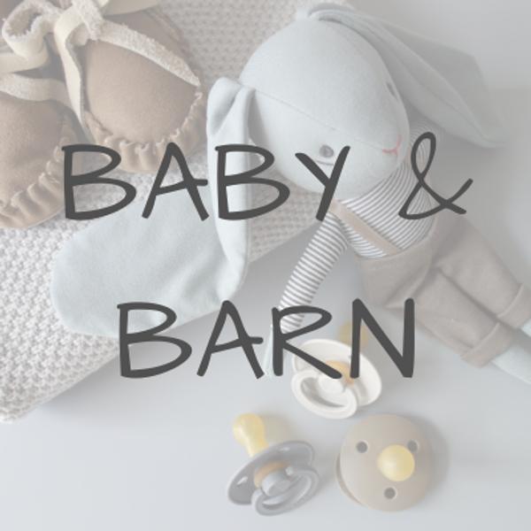 alt til baby og barn, fra babynest, minneboker, swaddle, stelletid, badekåper