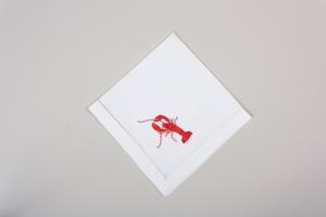 Bilde av Serviett med hummer
