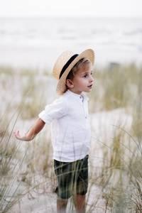 Bilde av Skjorte i lin - hvit