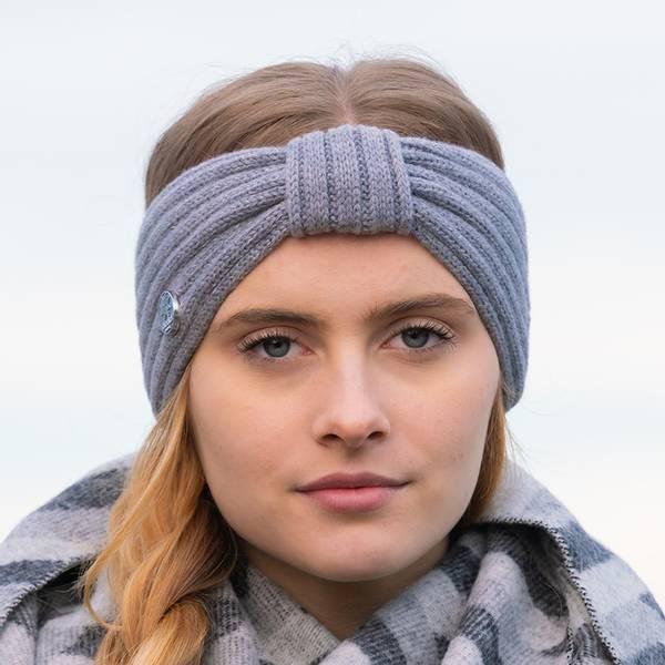 Bilde av Morild Vale pannebånd med refleks, grå