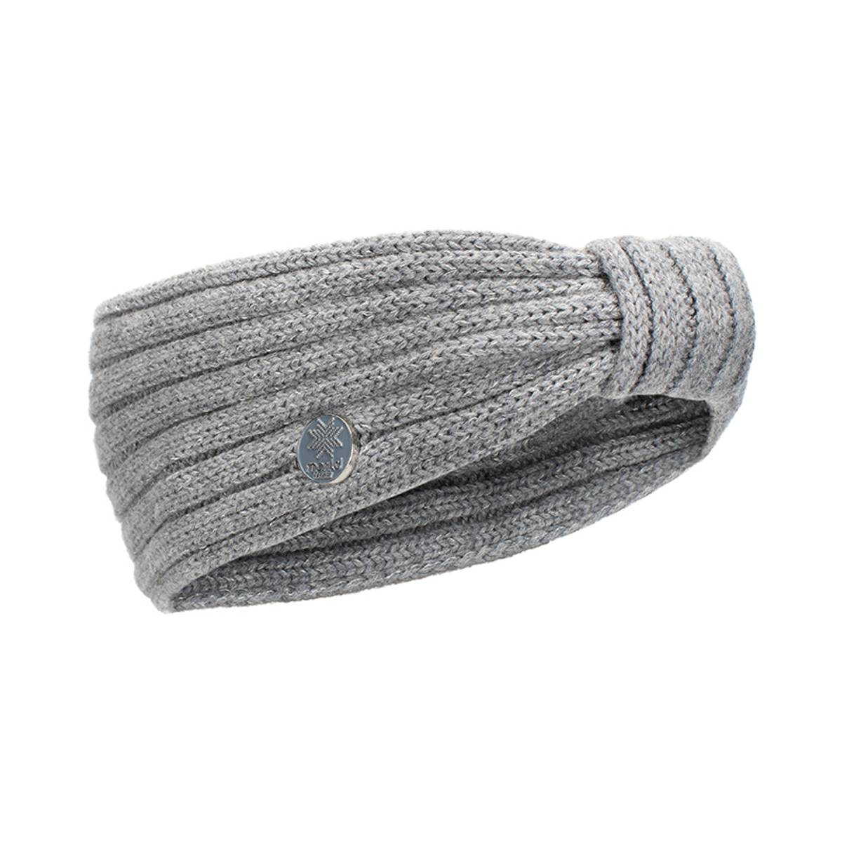 Morild Vale pannebånd med refleks, grå