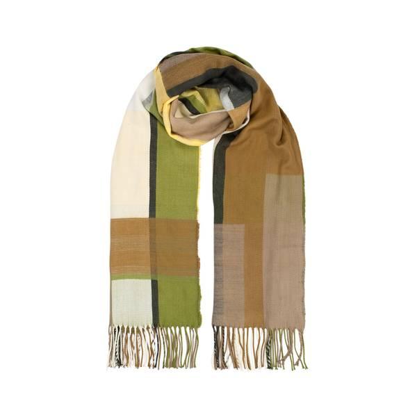 Bilde av Morild Vilje skjerf med refleks, brun  multifarge