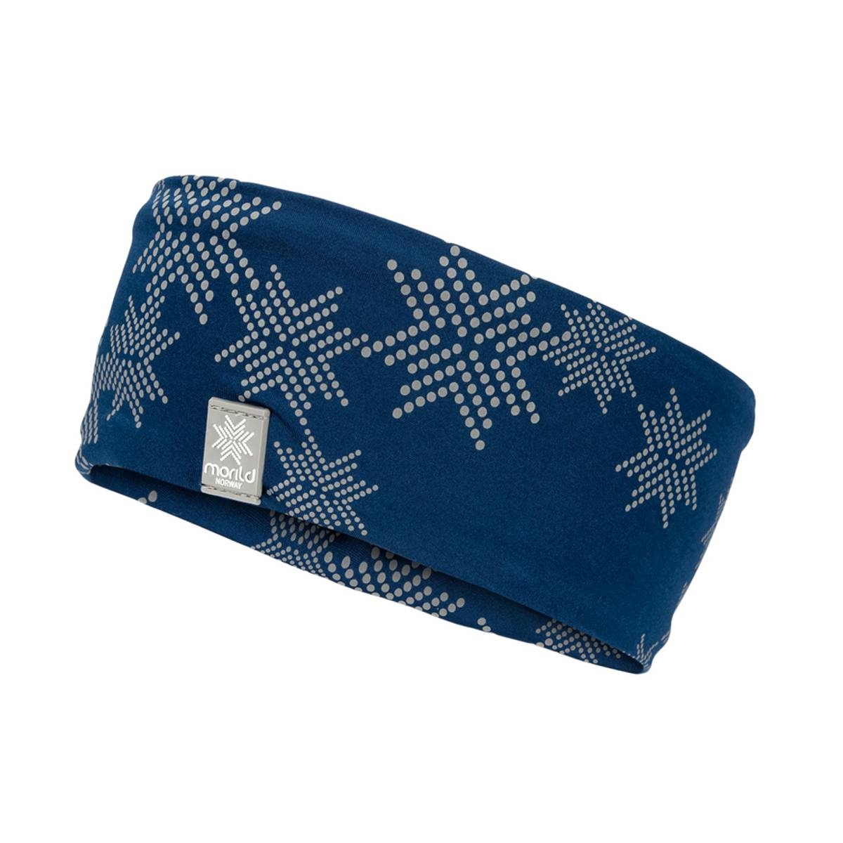Morild Skimre Junior pannebånd med refleks, marineblå