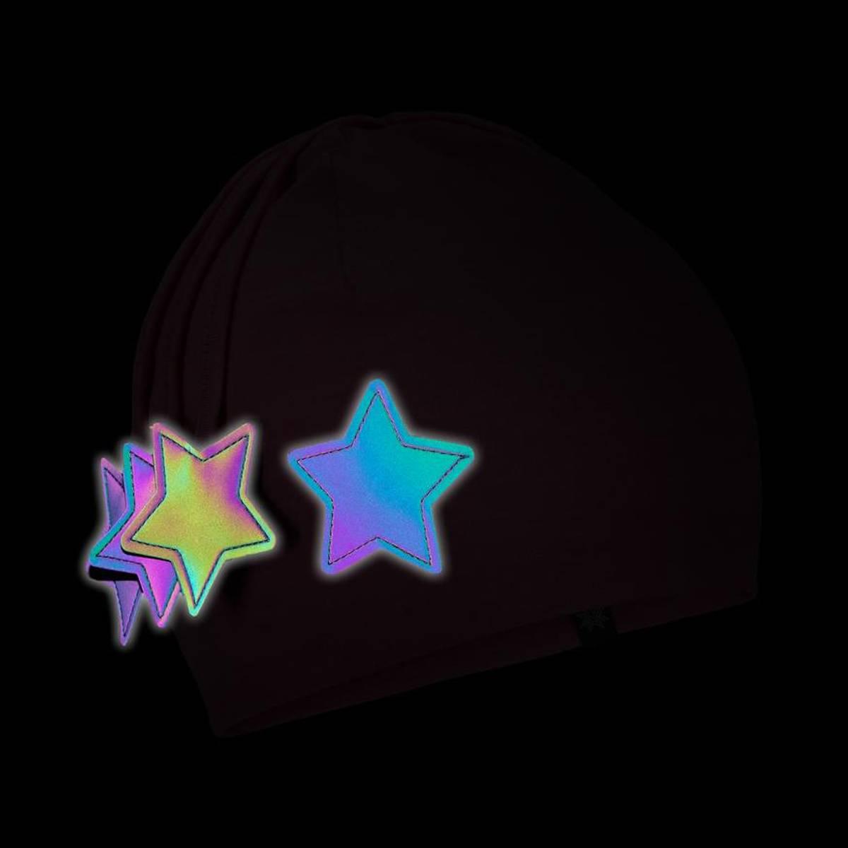 Morild Nordstjerne lue med refleks, lys rosa