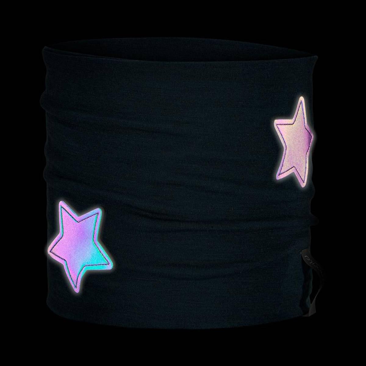 Morild Nordstjerne hals med refleks, midnattsblå