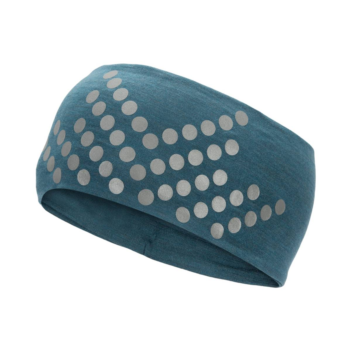 Morild Sølvfaks pannebånd med refleks, midnattsblå