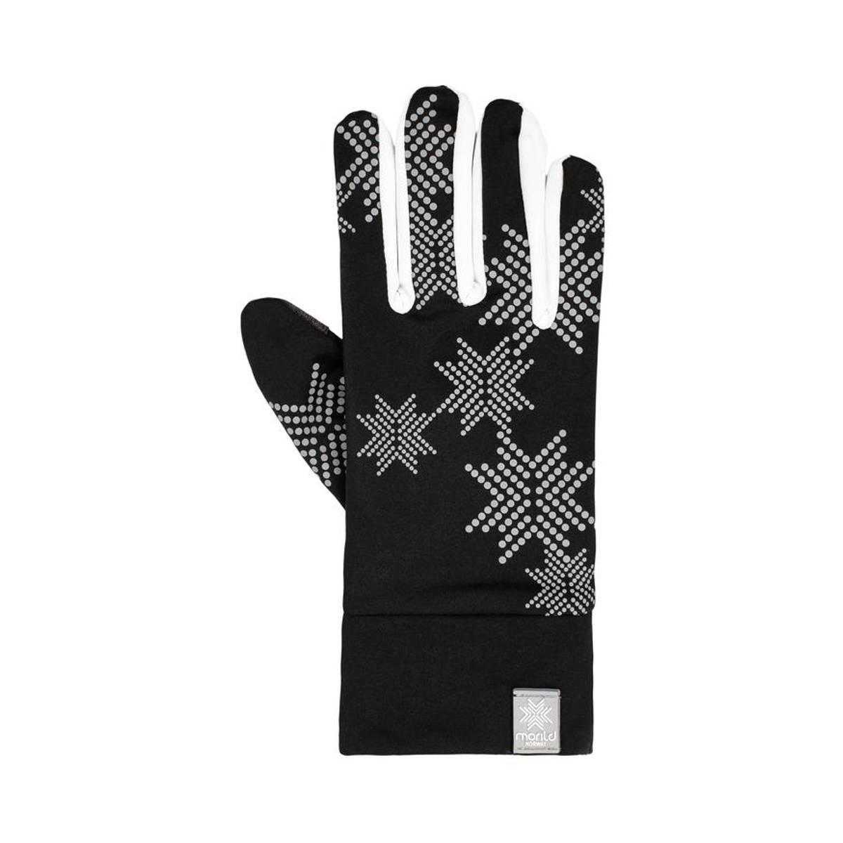 Morild Skimre hanske med refleks, hvit
