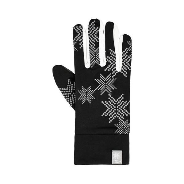 Bilde av Morild Skimre hanske med refleks, hvit