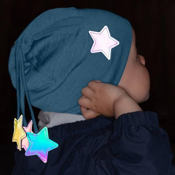 Bilde av Morild Nordstjerne lue med refleks, midnattsblå