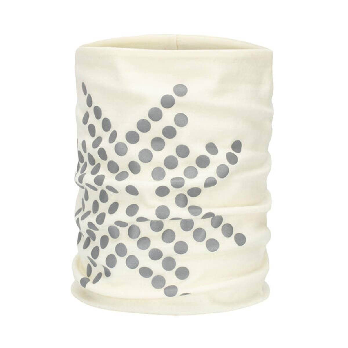 Morild Sølvfaks hals med refleks, hvit