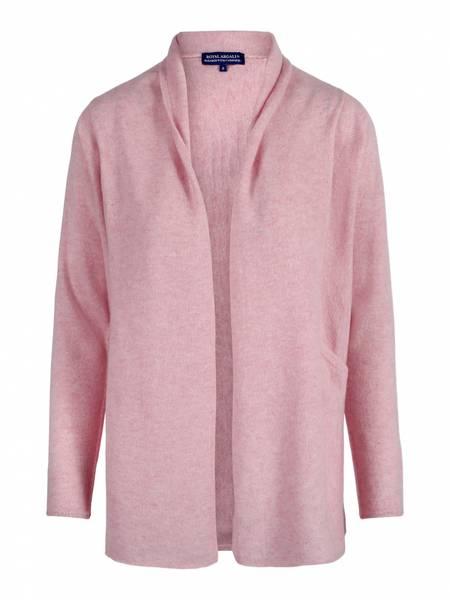 Bilde av Lys rosa cashmere cardigan - Edge to edge