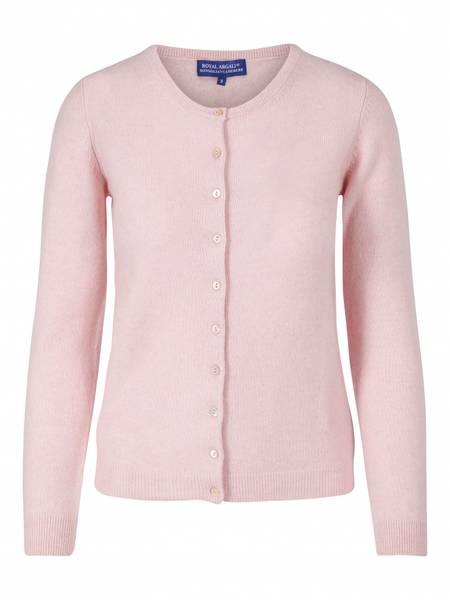 Bilde av Klassisk lysrosa cashmere cardigan