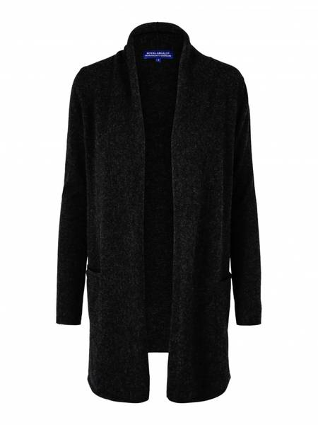 Bilde av Mørkegrå cashmere jakke
