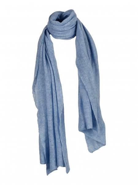 Bilde av Big knitted Scarf-light blue