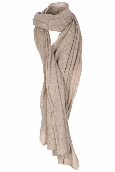 Bilde av Big knitted Scarf Organic
