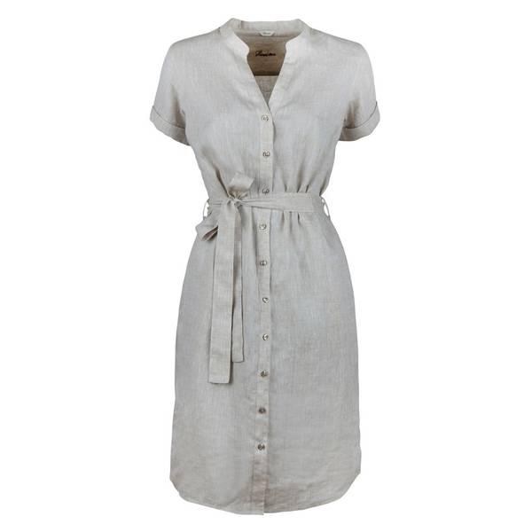 Bilde av Light Beige Linen Dress