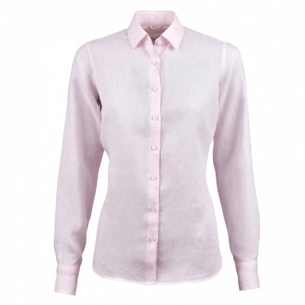 Bilde av Sofie lin bluse Lys rosa