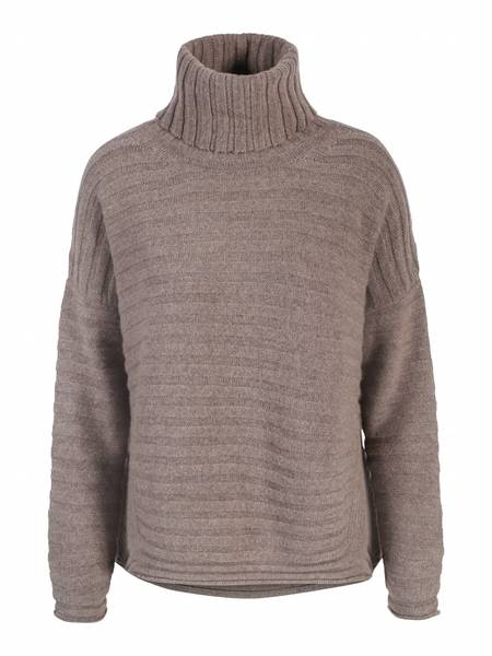 Bilde av Tykk høyhals cashmere genser